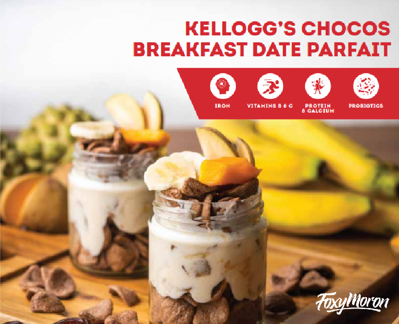 kelloggs partners with FoxyMoron to launch their new e-cookbook